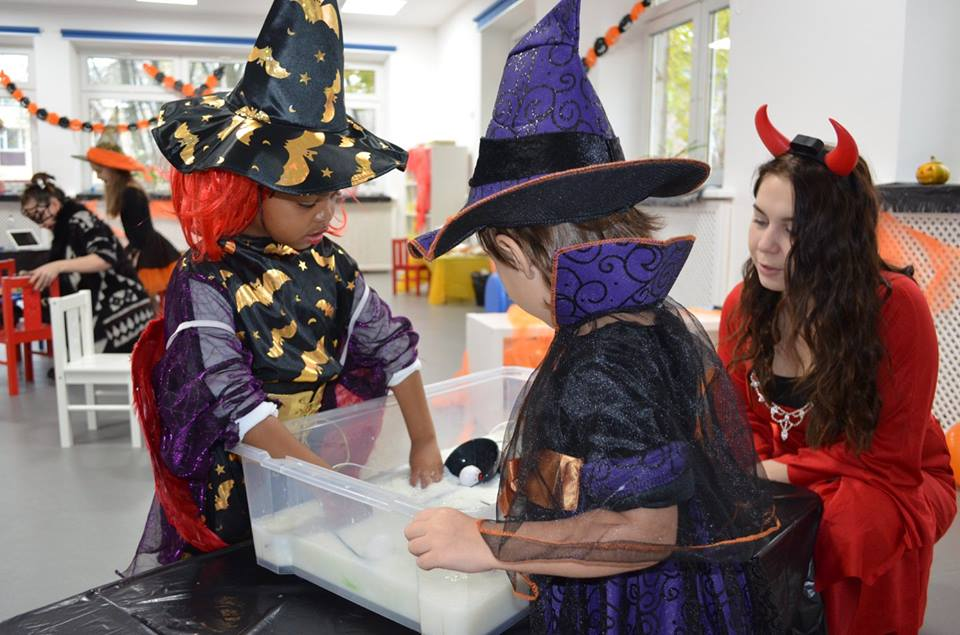 Spooky Halloween Saturday club at Britannia School