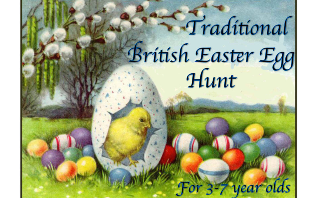 Traditional British Easter Egg Hunt