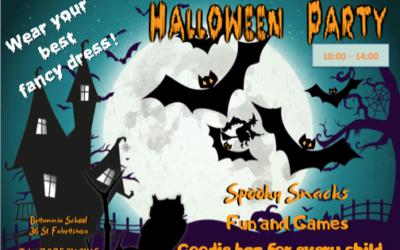 """Традиционный праздник""""Хеллоуин"""" в Britannia School в 2018"""