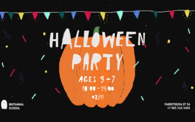 Britannia School Halloween party 2019